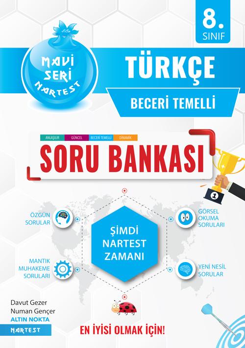 8. SINIF MAVİ TÜRKÇE SORU BANKASI