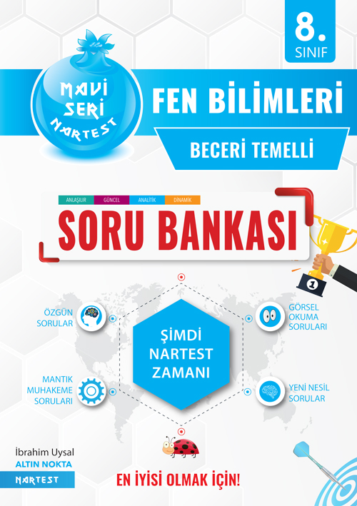 8. SINIF MAVİ FEN BİLİMLERİ SORU BANKASI